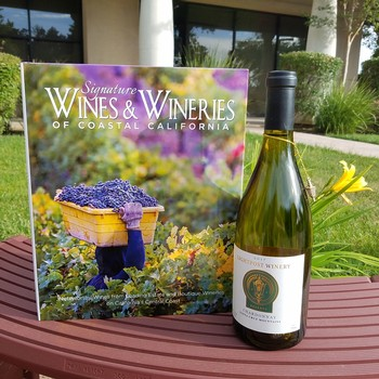 Signature  Wines and Wineries of Central California book