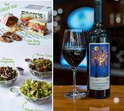 Wine flight & Food bundle